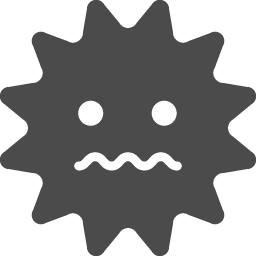 コンピューターウィルス2 アイコン素材ダウンロードサイト Icooon Mono 商用利用可能なアイコン素材が無料 フリー ダウンロード できるサイト