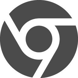 ブラウザアイコン Google Chrome アイコン素材ダウンロードサイト Icooon Mono 商用利用可能なアイコン 素材が無料 フリー ダウンロードできるサイト