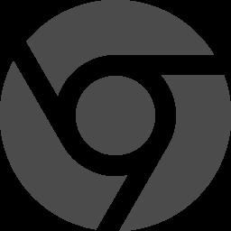 ブラウザアイコン Google Chrome アイコン素材ダウンロードサイト Icooon Mono 商用利用可能なアイコン素材が無料 フリー ダウンロードできるサイト