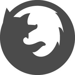ブラウザアイコン Firefox アイコン素材ダウンロードサイト Icooon Mono 商用利用可能なアイコン素材が無料 フリー ダウンロードできるサイト
