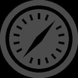 ブラウザアイコン2 Safari アイコン素材ダウンロードサイト Icooon Mono 商用利用可能なアイコン素材が無料 フリー ダウンロードできるサイト