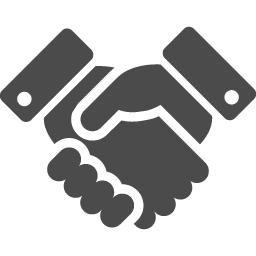 握手のアイコン アイコン素材ダウンロードサイト Icooon Mono 商用利用可能なアイコン素材が無料 フリー ダウンロードできるサイト