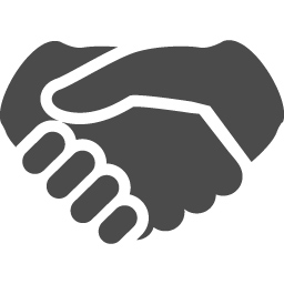 シェイクハンドアイコン アイコン素材ダウンロードサイト Icooon Mono 商用利用可能なアイコン 素材が無料 フリー ダウンロードできるサイト