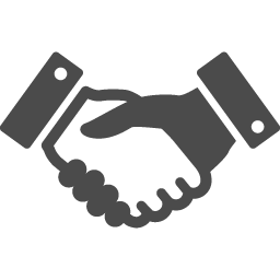 握手のフリーアイコン アイコン素材ダウンロードサイト Icooon Mono 商用利用可能なアイコン 素材が無料 フリー ダウンロードできるサイト
