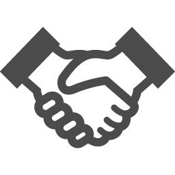 フリーの握手アイコン アイコン素材ダウンロードサイト Icooon Mono 商用利用可能なアイコン素材 が無料 フリー ダウンロードできるサイト