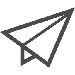 紙飛行機アイコン アイコン素材ダウンロードサイト Icooon Mono 商用利用可能なアイコン素材が無料 フリー ダウンロードできるサイト