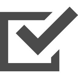 チェックボックスアイコン アイコン素材ダウンロードサイト Icooon Mono 商用利用可能なアイコン素材が無料 フリー ダウンロードできるサイト
