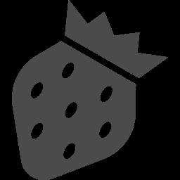 イチゴのフリーアイコン アイコン素材ダウンロードサイト Icooon Mono 商用利用可能なアイコン素材が無料 フリー ダウンロードできるサイト