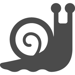 かたつむりのアイコン アイコン素材ダウンロードサイト Icooon Mono 商用利用可能なアイコン素材が無料 フリー ダウンロードできるサイト