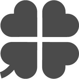 四葉のクローバーの無料アイコン アイコン素材ダウンロードサイト Icooon Mono 商用利用可能なアイコン素材が無料 フリー ダウンロードできるサイト