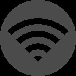 白抜きのwi Fiアイコン アイコン素材ダウンロードサイト Icooon Mono 商用利用可能なアイコン素材が無料 フリー ダウンロードできるサイト