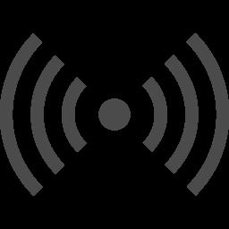 電波 ビーコンのアイコン アイコン素材ダウンロードサイト Icooon Mono 商用利用可能なアイコン素材が無料 フリー ダウンロードできるサイト