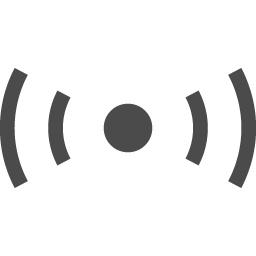 発信機のアイコン アイコン素材ダウンロードサイト Icooon Mono 商用利用可能なアイコン素材が無料 フリー ダウンロードできるサイト