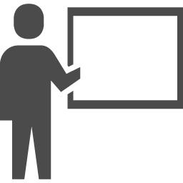 プレゼンテーションのアイコン 7 アイコン素材ダウンロードサイト Icooon Mono 商用利用可能なアイコン素材が無料 フリー ダウンロードできるサイト