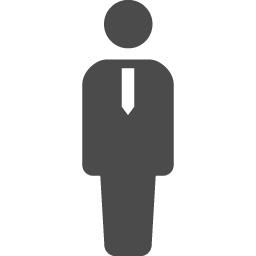 ネクタイをした人のピクトグラム アイコン素材ダウンロードサイト Icooon Mono 商用利用可能なアイコン素材が無料 フリー ダウンロードできるサイト