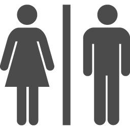 トイレのピクトグラム アイコン素材ダウンロードサイト Icooon Mono 商用利用可能なアイコン素材が無料 フリー ダウンロードできるサイト