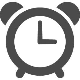 目覚まし時計のフリーアイコン アイコン素材ダウンロードサイト Icooon Mono 商用利用可能なアイコン 素材が無料 フリー ダウンロードできるサイト