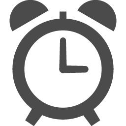 無料で使えるめざまし時計のアイコン アイコン素材ダウンロードサイト Icooon Mono 商用利用可能なアイコン 素材が無料 フリー ダウンロードできるサイト