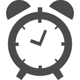 フリーの目覚まし時計のアイコン アイコン素材ダウンロードサイト Icooon Mono 商用利用可能なアイコン素材が無料 フリー ダウンロードできるサイト