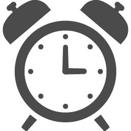 アラーム時計のアイコン アイコン素材ダウンロードサイト Icooon Mono 商用利用可能なアイコン素材が無料 フリー ダウンロードできるサイト