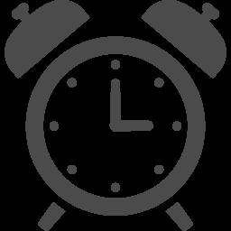 アラーム時計のアイコン アイコン素材ダウンロードサイト Icooon Mono 商用利用可能なアイコン 素材が無料 フリー ダウンロードできるサイト
