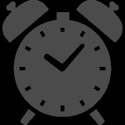 目覚まし時計の素材 アイコン素材ダウンロードサイト Icooon Mono 商用利用可能なアイコン素材が無料 フリー ダウンロードできるサイト