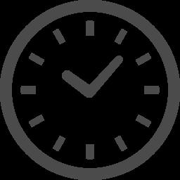 時計の無料アイコン アイコン素材ダウンロードサイト Icooon Mono 商用利用可能なアイコン素材が無料 フリー ダウンロードできるサイト