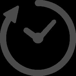時間経過のアイコン 1 アイコン素材ダウンロードサイト Icooon Mono 商用利用可能なアイコン 素材が無料 フリー ダウンロードできるサイト