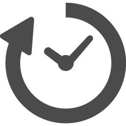 時間経過のアイコン 2 アイコン素材ダウンロードサイト Icooon Mono 商用利用可能なアイコン素材が無料 フリー ダウンロードできるサイト