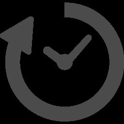 時間経過のアイコン 2 アイコン素材ダウンロードサイト Icooon Mono 商用利用可能なアイコン 素材が無料 フリー ダウンロードできるサイト
