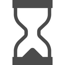 砂時計のアイコン アイコン素材ダウンロードサイト Icooon Mono 商用利用可能なアイコン素材が無料 フリー ダウンロードできるサイト
