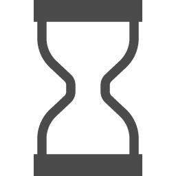 空の砂時計のアイコン アイコン素材ダウンロードサイト Icooon Mono 商用利用可能なアイコン素材が無料 フリー ダウンロードできるサイト