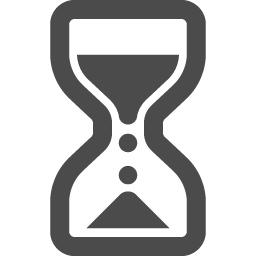 砂時計の無料アイコン アイコン素材ダウンロードサイト Icooon Mono 商用利用可能なアイコン素材が無料 フリー ダウンロードできるサイト