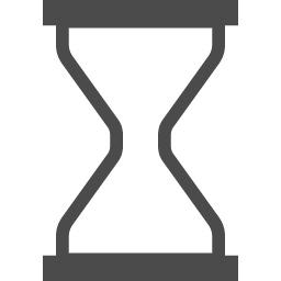 砂時計のフリーイラスト アイコン素材ダウンロードサイト Icooon Mono 商用利用可能なアイコン素材が無料 フリー ダウンロードできるサイト