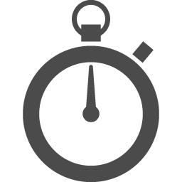 シンプルなストップウォッチのアイコン アイコン素材ダウンロードサイト Icooon Mono 商用利用可能な アイコン素材が無料 フリー ダウンロードできるサイト