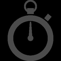 シンプルなストップウォッチのアイコン アイコン素材ダウンロードサイト Icooon Mono 商用利用可能なアイコン素材が無料 フリー ダウンロードできるサイト