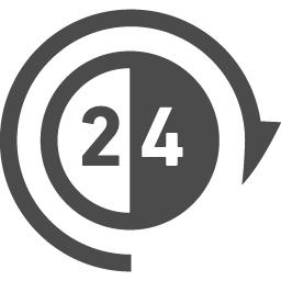 24時間無休アイコン アイコン素材ダウンロードサイト Icooon Mono 商用利用可能なアイコン素材が無料 フリー ダウンロードできるサイト