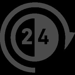 24時間無休アイコン アイコン素材ダウンロードサイト Icooon Mono 商用利用可能なアイコン 素材が無料 フリー ダウンロードできるサイト