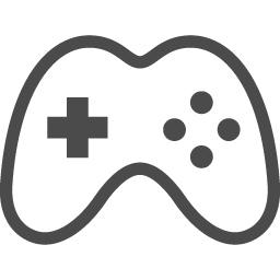ゲームコントローラのアイコン アイコン素材ダウンロードサイト Icooon Mono 商用利用可能なアイコン素材が無料 フリー ダウンロードできるサイト