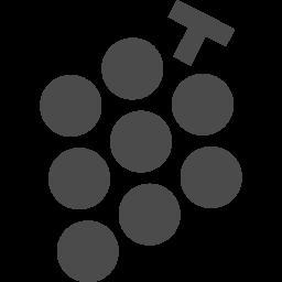 ぶどうのアイコン アイコン素材ダウンロードサイト Icooon Mono 商用利用可能なアイコン素材が無料 フリー ダウンロードできるサイト