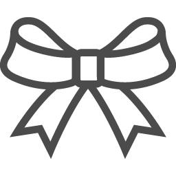 リボンの線画イラスト アイコン素材ダウンロードサイト Icooon Mono 商用利用可能なアイコン素材が無料 フリー ダウンロードできるサイト