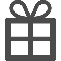 クリスマスプレゼンのとの無料アイコン アイコン素材ダウンロードサイト Icooon Mono 商用利用可能なアイコン素材が無料 フリー ダウンロードできるサイト
