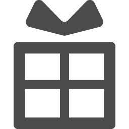 無用で使えるプレゼント素材 アイコン素材ダウンロードサイト Icooon Mono 商用利用可能なアイコン素材 が無料 フリー ダウンロードできるサイト