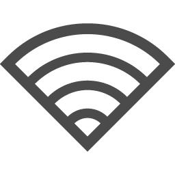 白抜きのwi Fiアイコン アイコン素材ダウンロードサイト Icooon Mono 商用利用可能なアイコン 素材が無料 フリー ダウンロードできるサイト