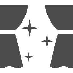 公演 劇場のアイコン アイコン素材ダウンロードサイト Icooon Mono 商用利用可能なアイコン素材が無料 フリー ダウンロードできるサイト