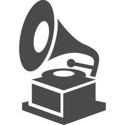 蓄音機の無料アイコン アイコン素材ダウンロードサイト Icooon Mono 商用利用可能なアイコン素材が無料 フリー ダウンロードできるサイト
