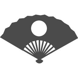 Japanese Fan Icon 3 アイコン素材ダウンロードサイト Icooon Mono 商用利用可能なアイコン素材が無料 フリー ダウンロードできるサイト