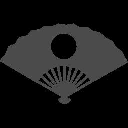 扇子のフリーアイコン アイコン素材ダウンロードサイト Icooon Mono 商用利用可能なアイコン素材が無料 フリー ダウンロードできるサイト