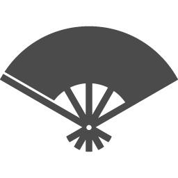 Japanese Fan Icon 4 アイコン素材ダウンロードサイト Icooon Mono 商用利用可能なアイコン素材が無料 フリー ダウンロードできるサイト