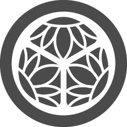 葵の家紋アイコン アイコン素材ダウンロードサイト Icooon Mono 商用利用可能なアイコン素材が無料 フリー ダウンロードできるサイト